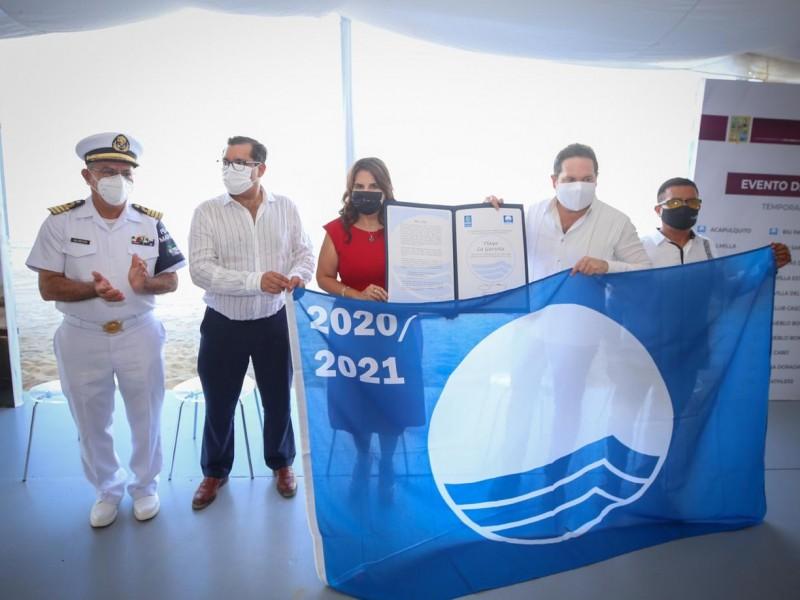 Otorgan a otra playa reconocimiento Blue Flag; suman ya 22
