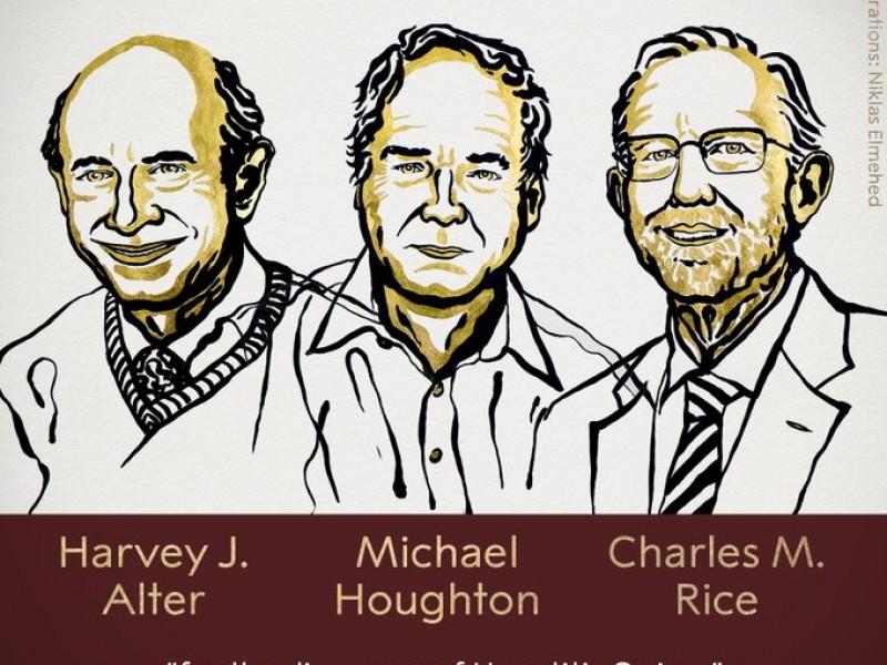 Otorgan Premio Nobel de Fisiología a descubridores de hepatitis C