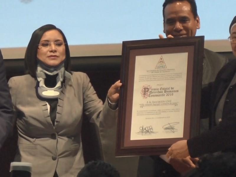 Otorgan Premio Tenamaxtle a Villa Infantil Sagrado Corazón