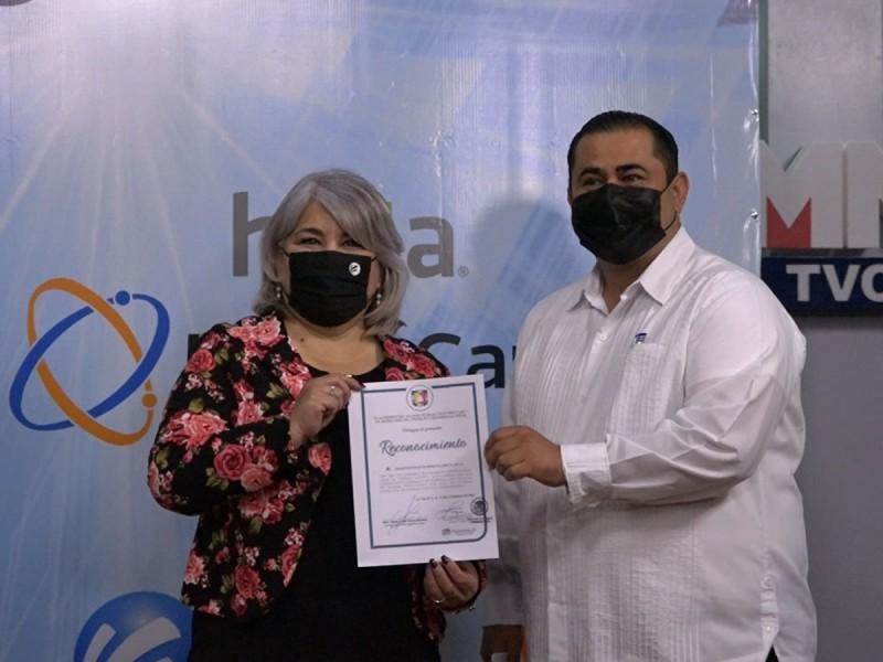 Otorgan reconocimiento a Megacable por sus protocolos sanitarias