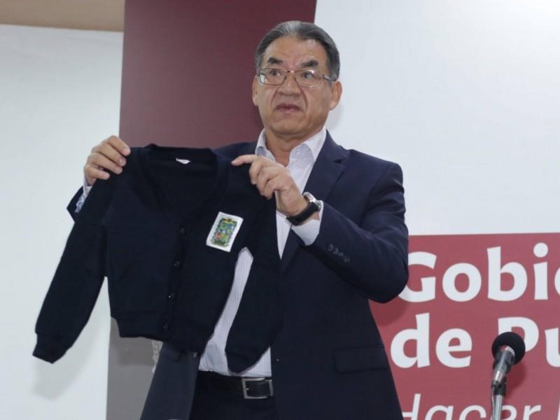 Otorgará Gobierno uniformes y útiles de calidad, asegura Barbosa