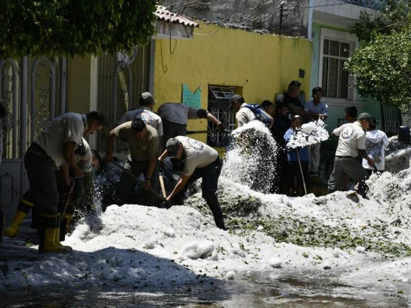 Otorgarán 10 mil pesos a víctimas de granizada