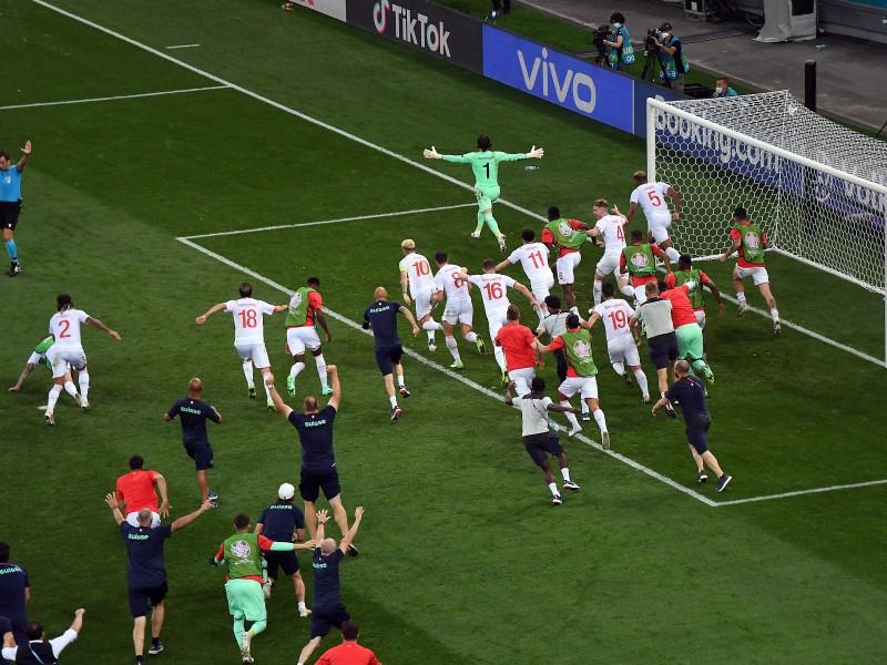 Otra sorpresa en la Euro: Suiza eliminó a Francia