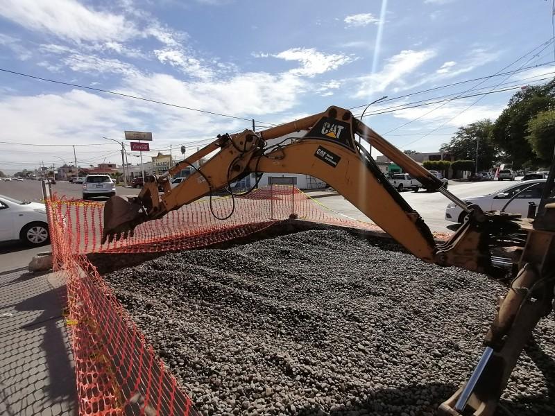 Otra vez, reparación de alabeo en Tabasco y Allende
