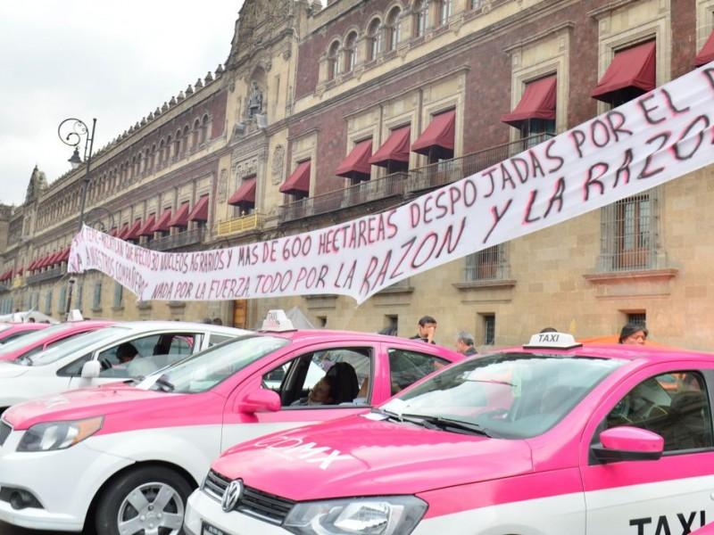 Otra vez... Taxistas realizarán megaprotesta