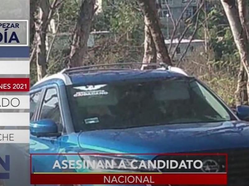 Otro fin de semana... otro candidato asesinado