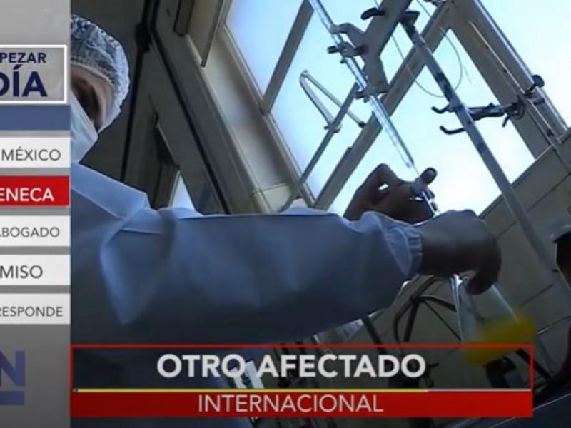 Otro voluntario de AstraZeneca presenta complicaciones médicas