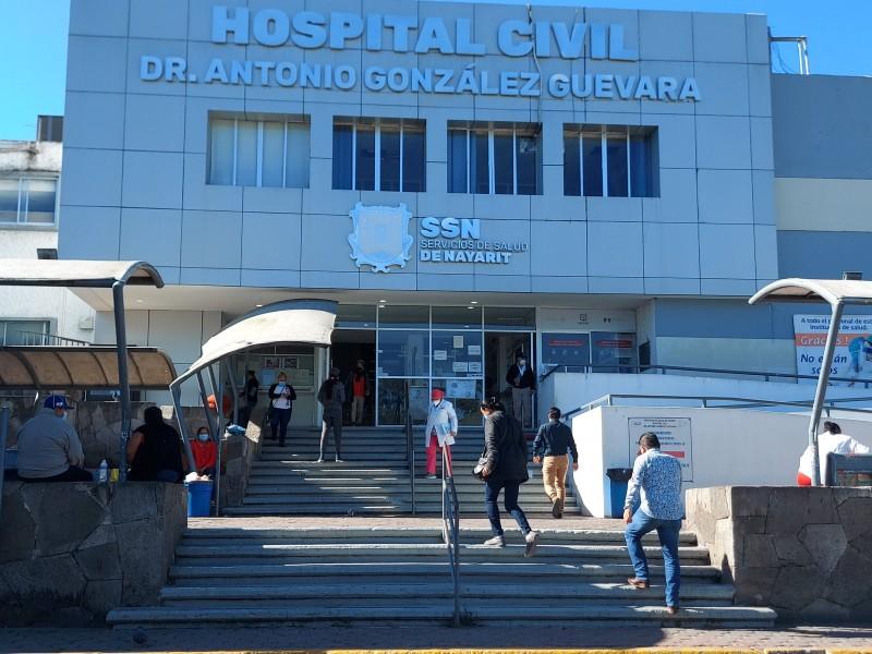 Enfermos COVID temen acudir a hospitales por riesgo de mortalidad
