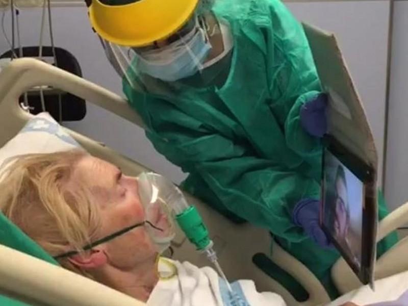 Pacientes Covid ya podrán comunicarse con sus familiares