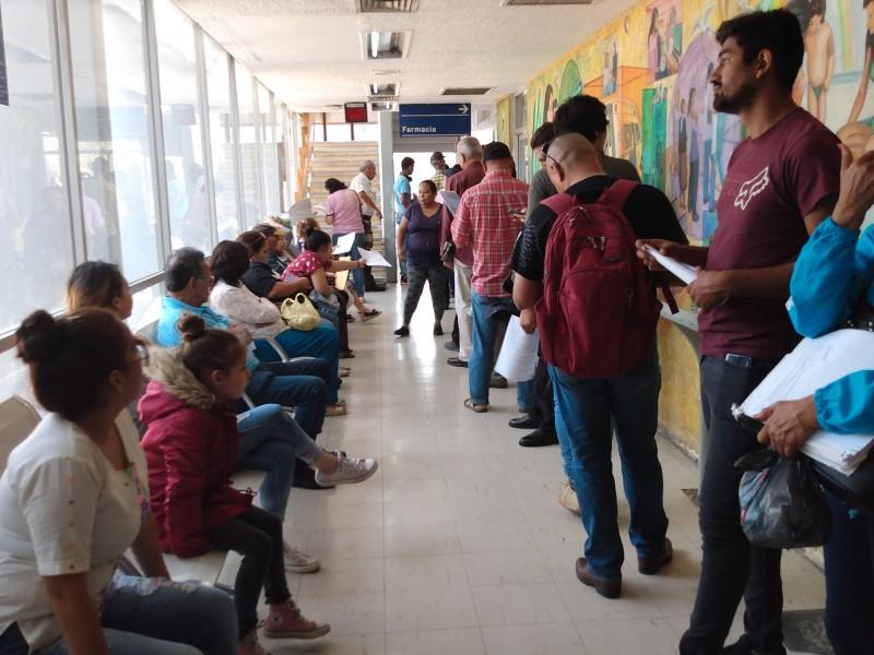 Pacientes del ISSSTE afectados por recorte presupuestal
