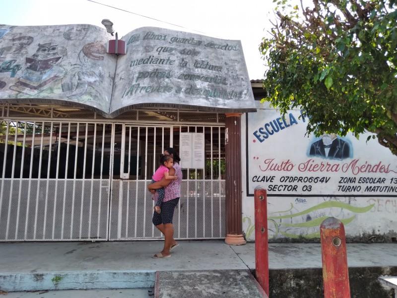 Padres de familia piden autoridades educativas verifique a escuela JustoSierra