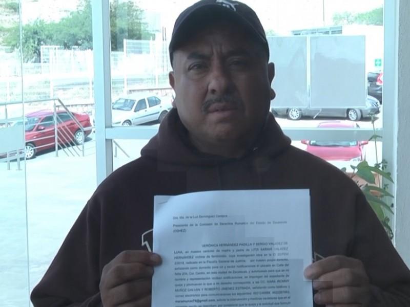 Padres de Litzi interponen queja contra Fiscal