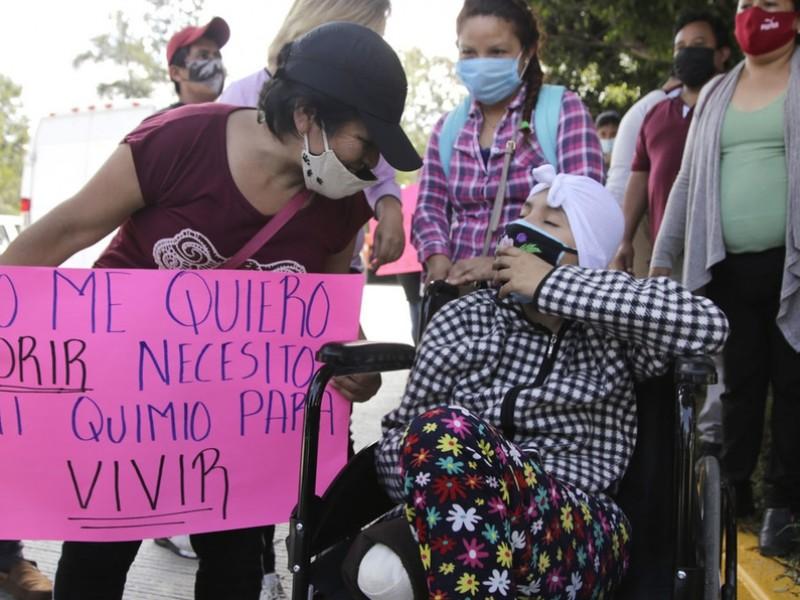 Padres de niños con cáncer marcharán el sábado en CDMX