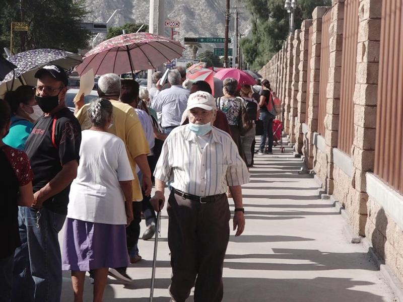 Pago de pensiones se ha vuelto un proceso caótico