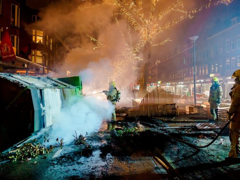 Países Bajos registra violentos disturbios contra medidas sanitarias Covid-19