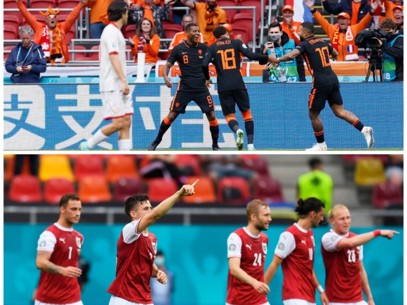 Países Bajos y Austria superan la fase de grupos