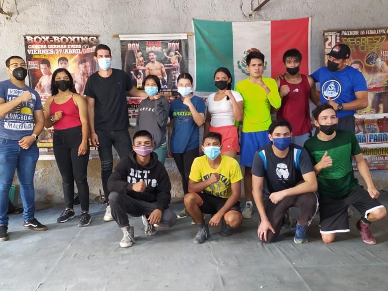 Palante, proyecto que busca impulsar a boxeadores de alto rendimiento