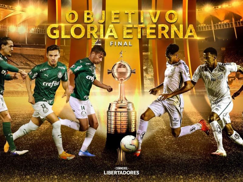 Palmeiras y Santos lucharán por la gloria de la Libertadores