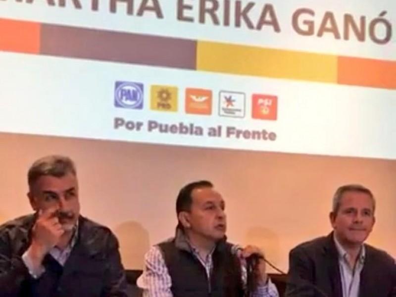 PAN confirma triunfo en Puebla