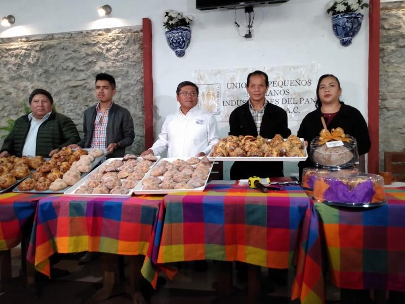 Panaderos presentan la Feria de la Hojaldra