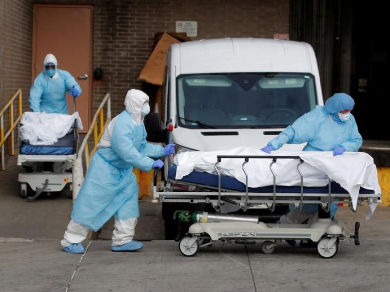 Pandemia inicia el año con récord en muertes