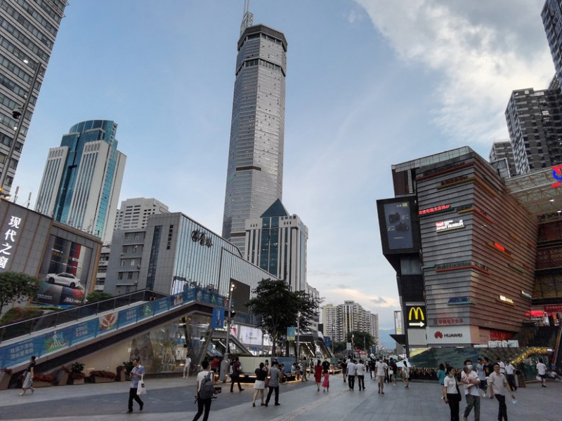 Pánico en China, rascacielos se mueve sin razón alguna