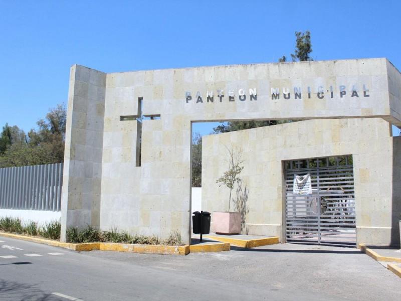 Panteones municipales permanecerán cerrados el 1 y 2 de noviembre