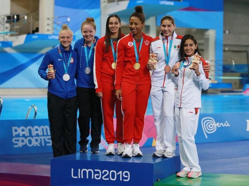 Paola Espinosa llega a 15 medallas en Panamericanos