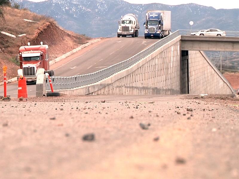 Para mayo conclusión de carretera a Nogales