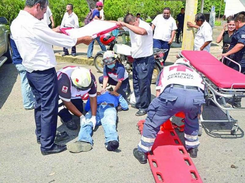 Paramédicos piden ser vacunados ante riesgos en Tapachula