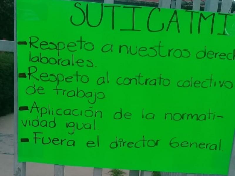 Paran labores administrativos de ICATMI La Piedad