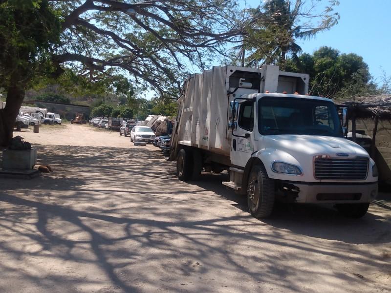 Paran labores sindicalizados del área de limpia en Salina Cruz