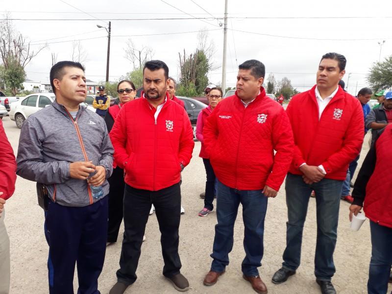 Paran trabajadores de Limpia en Guadalupe
