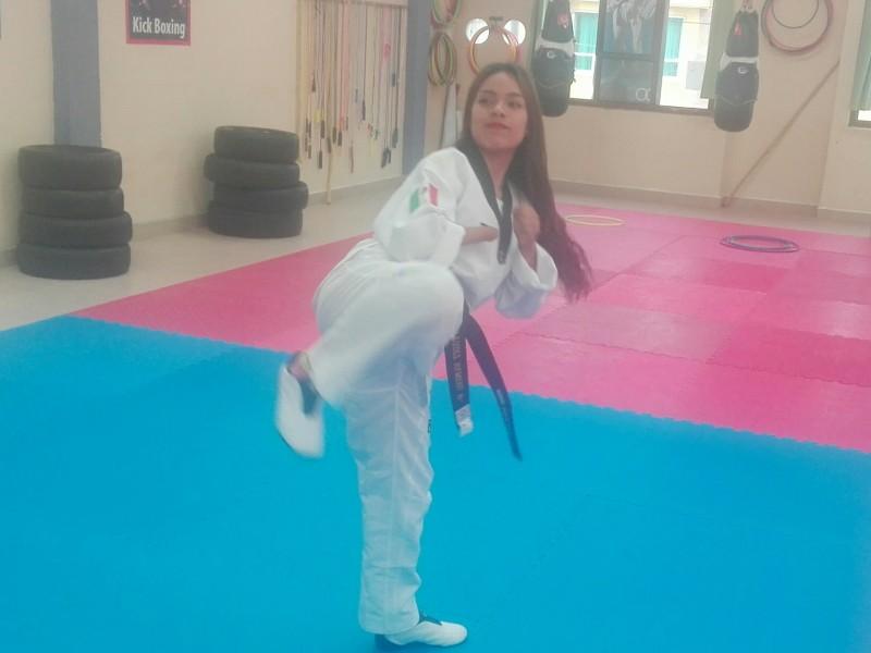 Parataekwondoina tehuacanense busca competir en Tokio 2020