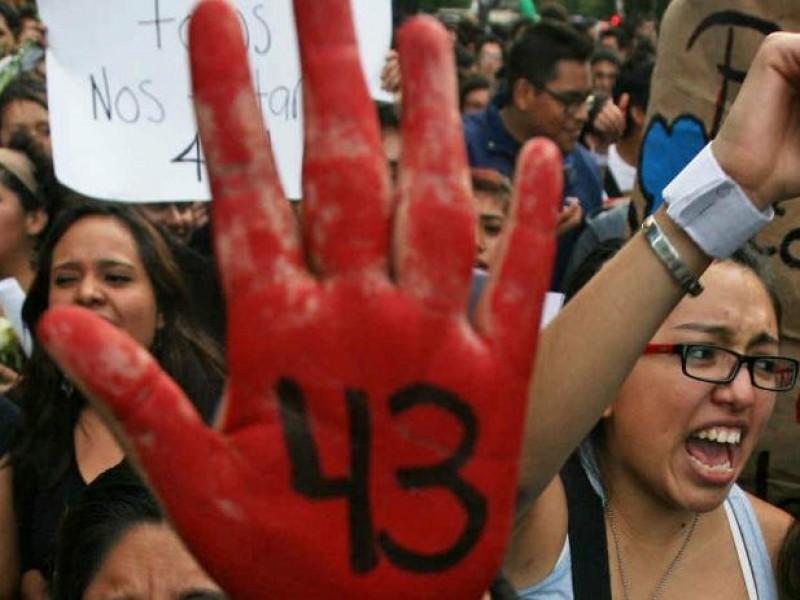Paro en la UNAM por aniversario de Ayotzinapa