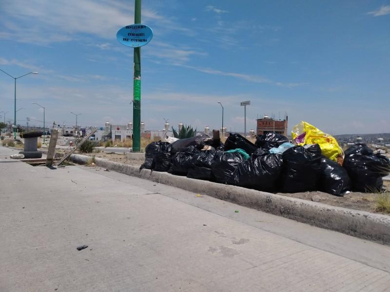 Paro laboral nocturno, afecta recolección de 297 toneladas de basura
