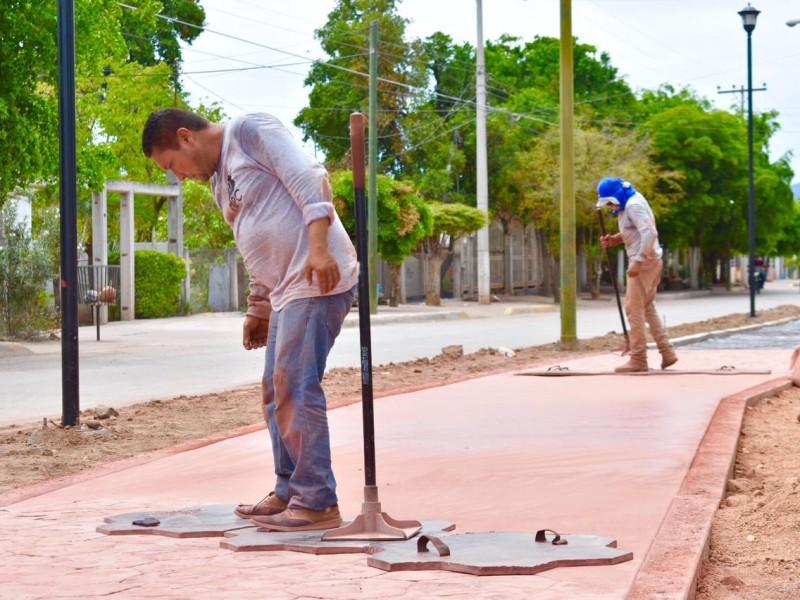 Parque Lineal y Mercado de Pericos al 90% de avance