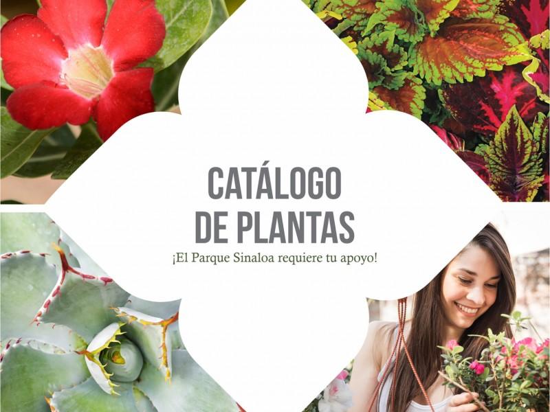 Parque Sinaloa pone a la venta catálogo de plantas