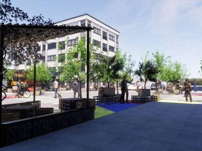 Parques de bolsillo mejoran ligeramente movilidad peatonal en el centro