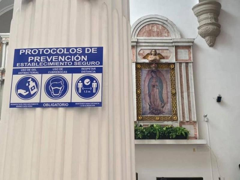 Parroquias realizarán ceremonias presenciales con 25% de aforo