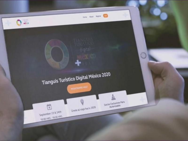 Participa BCS en presentación del primer tianguis turístico digital