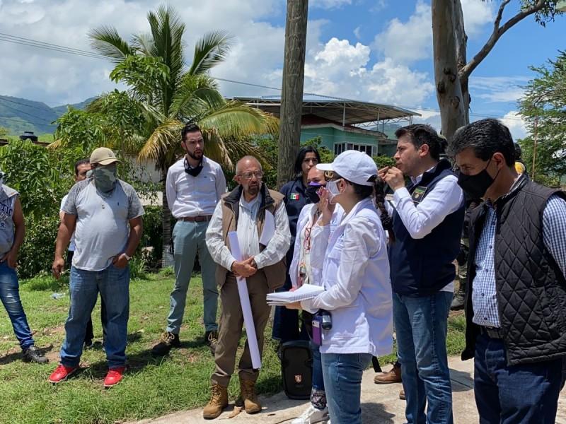 Participa CNDH en diálogo con autoridades y habitantes de Aguililla