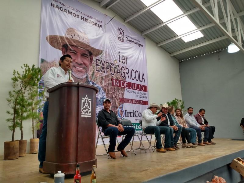 Participan 50 empresas del campo en Expo Agrícola