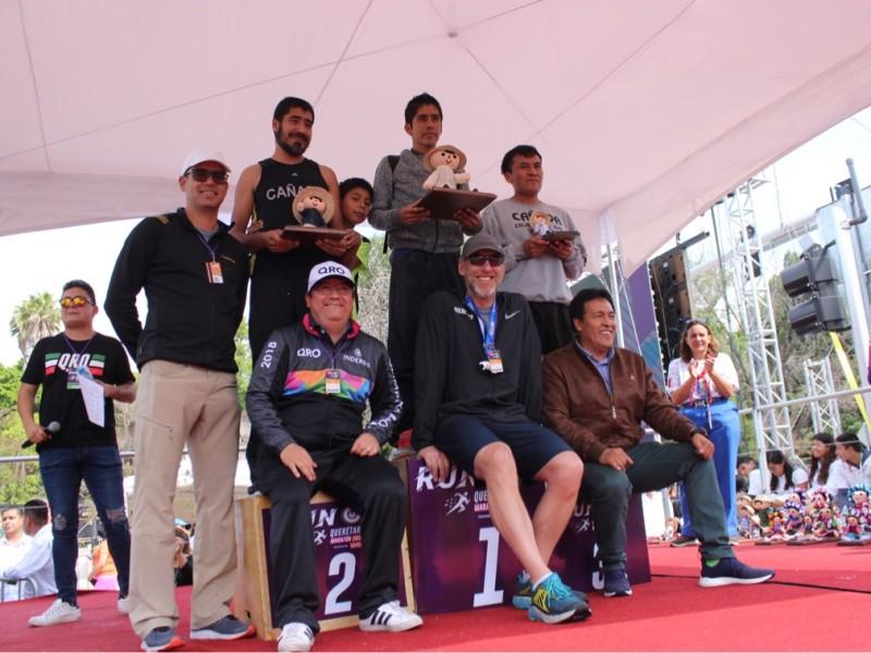 Participan más de 13 mil corredores en maratón