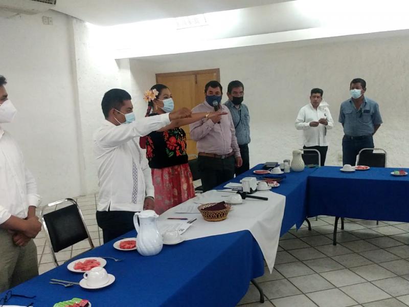 Partido RSP nombra candidatos por Tehuantepec; presidente y diputado local