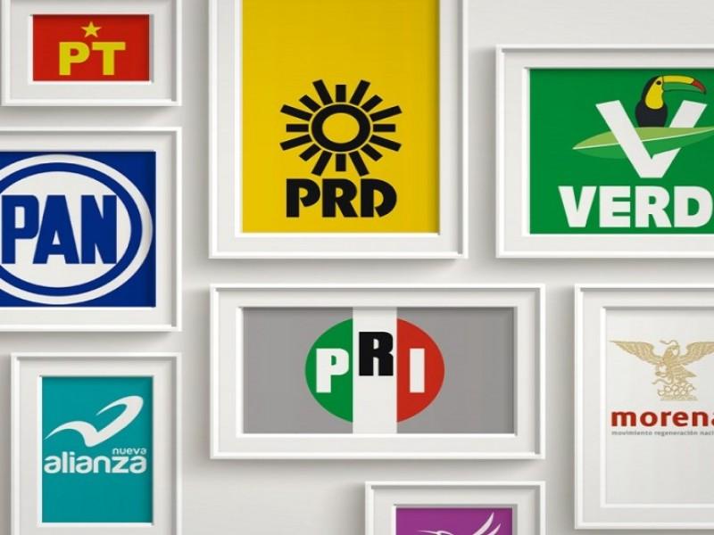 Partidos políticos entregan más de 1 mdp por multas
