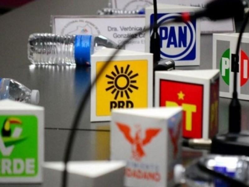 Partidos zacatecanos  a favor de candidaturas en común