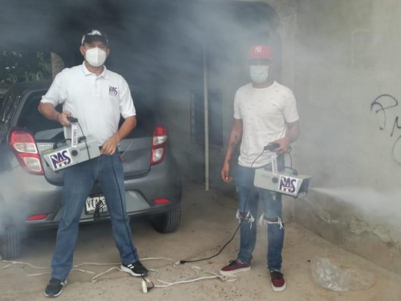 PAS realiza jornadas de sanitización para vehículos