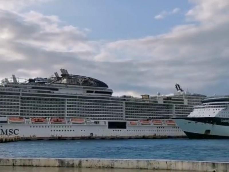 Pasajeros de crucero en Cozumel dan negativo a Coronavirus