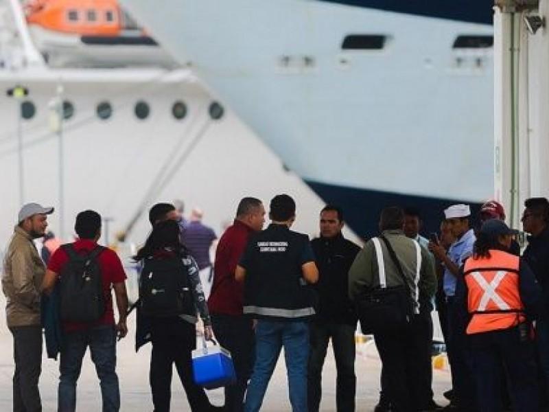Pasajeros de crucero Meraviglia desembarcan en Cozumel